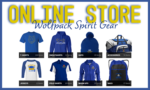 Visit our Online Store for Wolfpack Spirit Gear