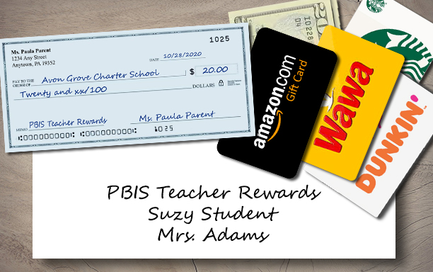 PBIS Rewards Donation
