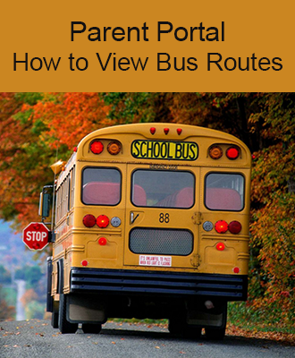 Parent Portal How to View Bus Routes